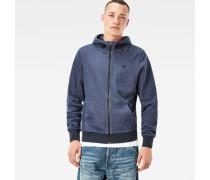Core Hooded Zip Sweater