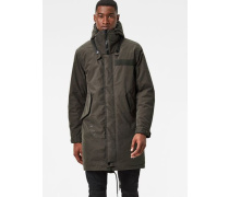 Submarine Hooded Deconstructed Parka