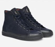 Bayton High-Top Denim Sneakers