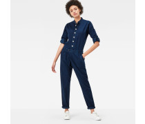 Bronson High Waist Wrap Jumpsuit