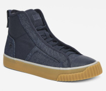 Scuba Denim Mid Sneakers