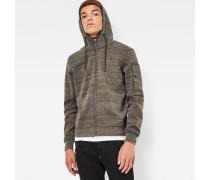Stalt Hooded Zip Sweater