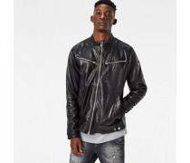 Mower Slim Leather Jacket