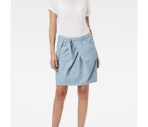 Rovic Pocket Wrap Midi Skirt