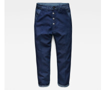 Bronson Mid Waist 3D Button Loose Chino