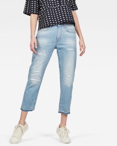3301 Ripped Mid Boyfriend Jeans