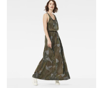 Army Radar Maxi Dress