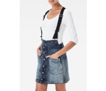 Dadin Tailored Braces A-line Skirt