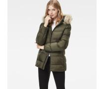 Whistler Hooded Fake Fur Slim Jacket