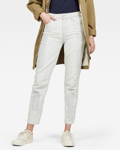 Biwes Badge Straight Jeans