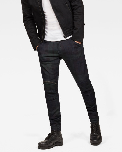 5620 G-Star Elwood 3D Zip Knee Super Slim Jeans