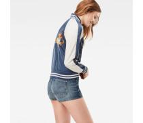 Aurum Slim Bomber Jacket