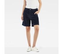 Bronson High Waist Bermuda Chino Shorts