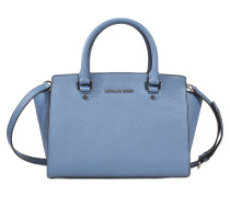 Selma medium top Satchel mit Reissverschluss