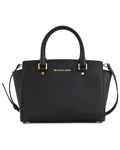 Tasche Selma medium top Reißverschlussped Satchel