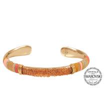 Exklusiver Armreif Massai mit Swarovski-Kristallen