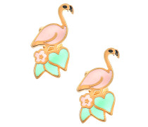 Ohrringe Charms Paradise Flamingo