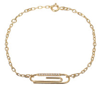 Armband Trombone mit Diamanten