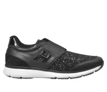 H254 Traditional Glitter Sneaker