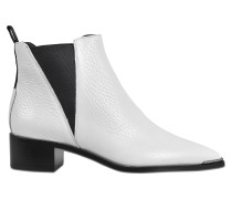 JENSEN GRAINED ANKLE BOOTS