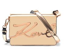 K/Signature Gloss shoulder bag