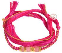 Armband Takayama mit Pink Quartz