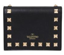 Kleines Portemonnaie mit Taschenklappe Rockstud