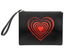 Red Heart Explosion Clutch