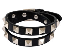 Armband oder Choker Rockstud Double Rows