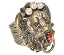 Ring Lion Head