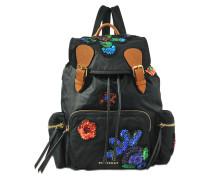 Rucksack Rucksack mit Pailletten und Blumen