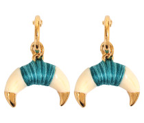 Ohrringe Takayama Earrings Bakelit und goldenem Horn