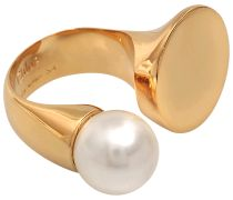 DARCEY ROUND RING WITH PEARL