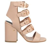 Sandale Kloe mit roségoldenen Schnallen
