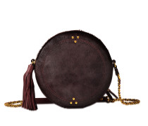 Tasche Rémi aus Leder in Ponyfell-Optik