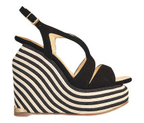 LENA STRIPED WEDGE
