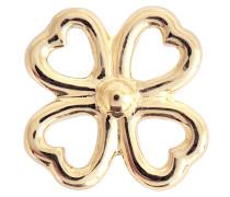 18K Clover einzelner Ohrring mit Diamant