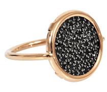 Schwarzer Ring Diamond Disc