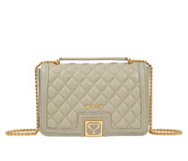 Quilted flap bag