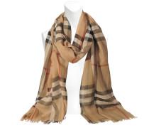 Schal Gauze Giant Check; Schal Gauze Giant Check aus Seide und Wolle 220x70 cm