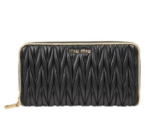 Lampo wallet in quilted leather