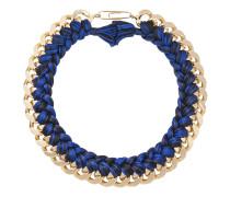 Do Brasileinzeln geflochtene Halskette