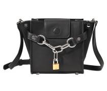 Tasche Attica Mini Chain aus Leder aus feinem Kalbsleder mit silbernen Details