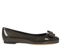 Ballerinas Varina Gold Stripe