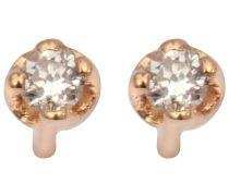 Ohrringes Mini Diamond Puce