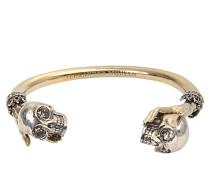 Armband Twin Skull