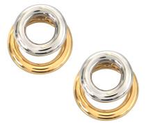 Ohrringe mit zwei Ringen