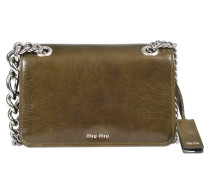 Club crossbody in soft leather