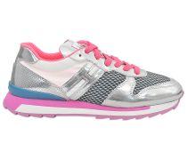 Metallische Jogging-Sneaker