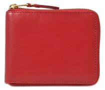 Quadratischer Geldbeutel mit Reissverschluss Classic Leather Line